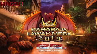 Live Streaming Maharaja Lawak Mega 2019 Minggu 1