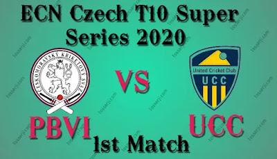 Who will win PBVI vs UCC 1st T20I Match