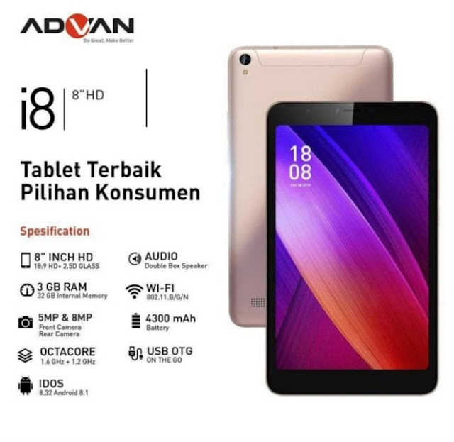 Advan Tablet Belajar