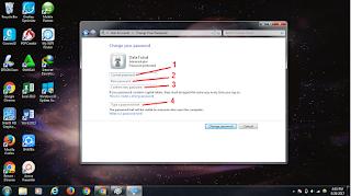 cara mengganti password windows 7