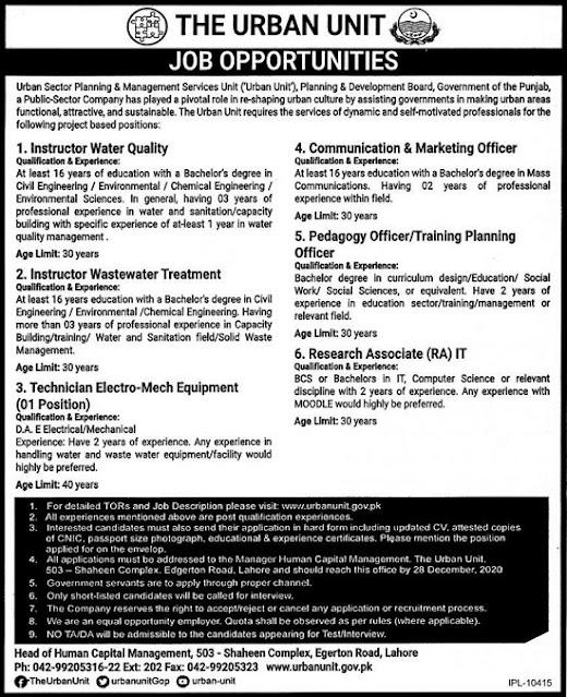 urban-unit-lahore-jobs-2020-pd-board-advertisement