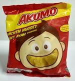 Nuget Ayam kombinasi, produk Akumo  250g