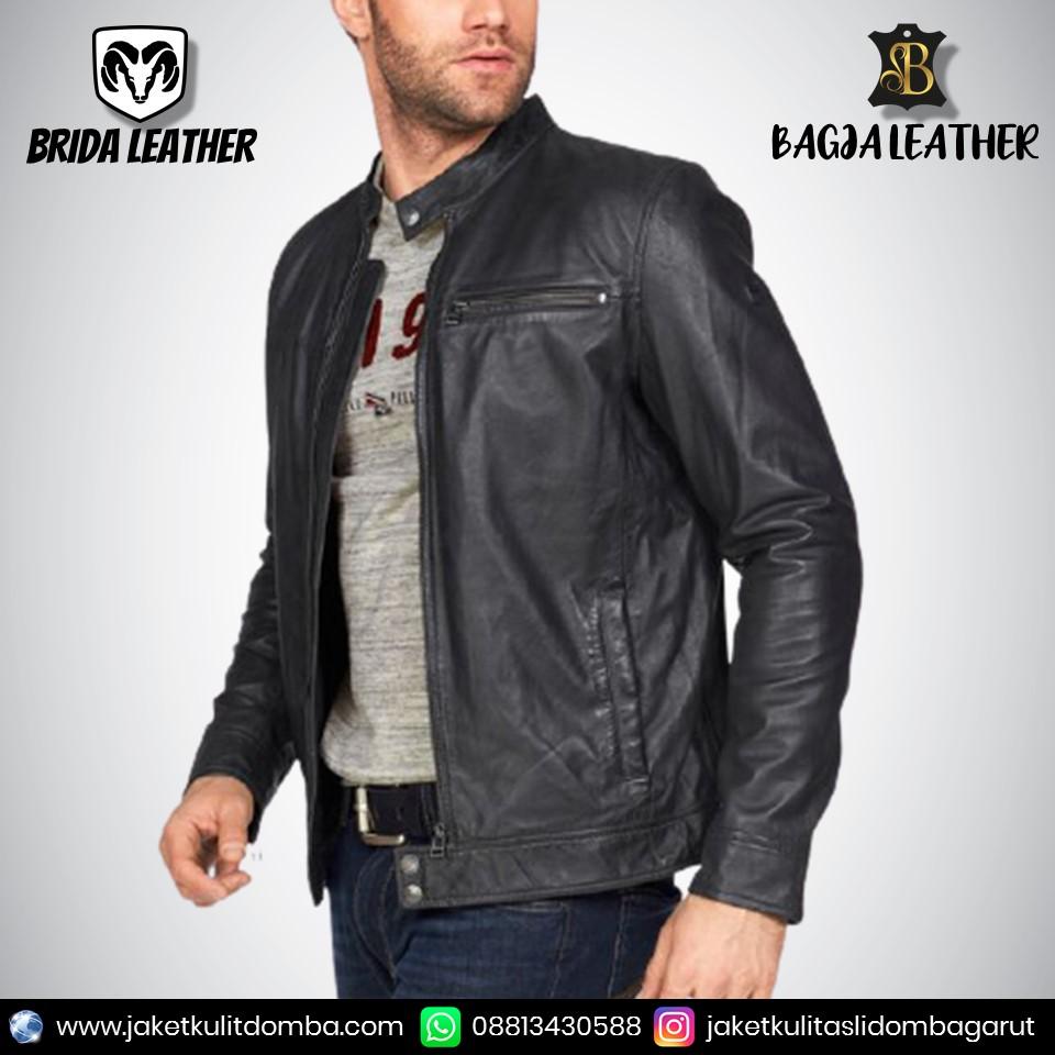 jaket kulit sukaregang asli