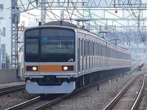 【ダイヤ改正で新登場!】209系1000番台の快速 立川行き