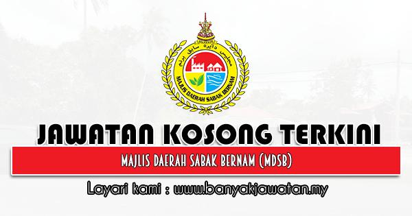 Jawatan Kosong 2021 di Majlis Daerah Sabak Bernam (MDSB)