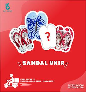 sandal ukir