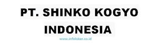 Lowongan Kerja PT Shinko Kogyo Indonesia