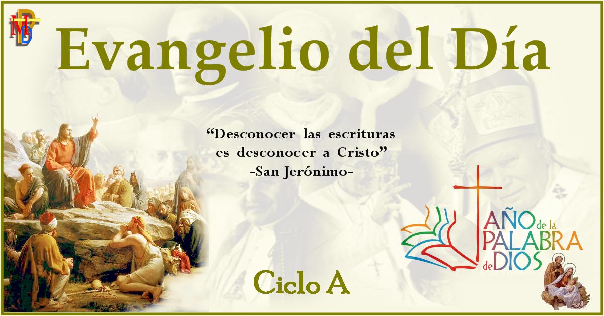 Misioneros De La Palabra Divina Evangelio 23 De Diciembre San Lucas 1 57 66