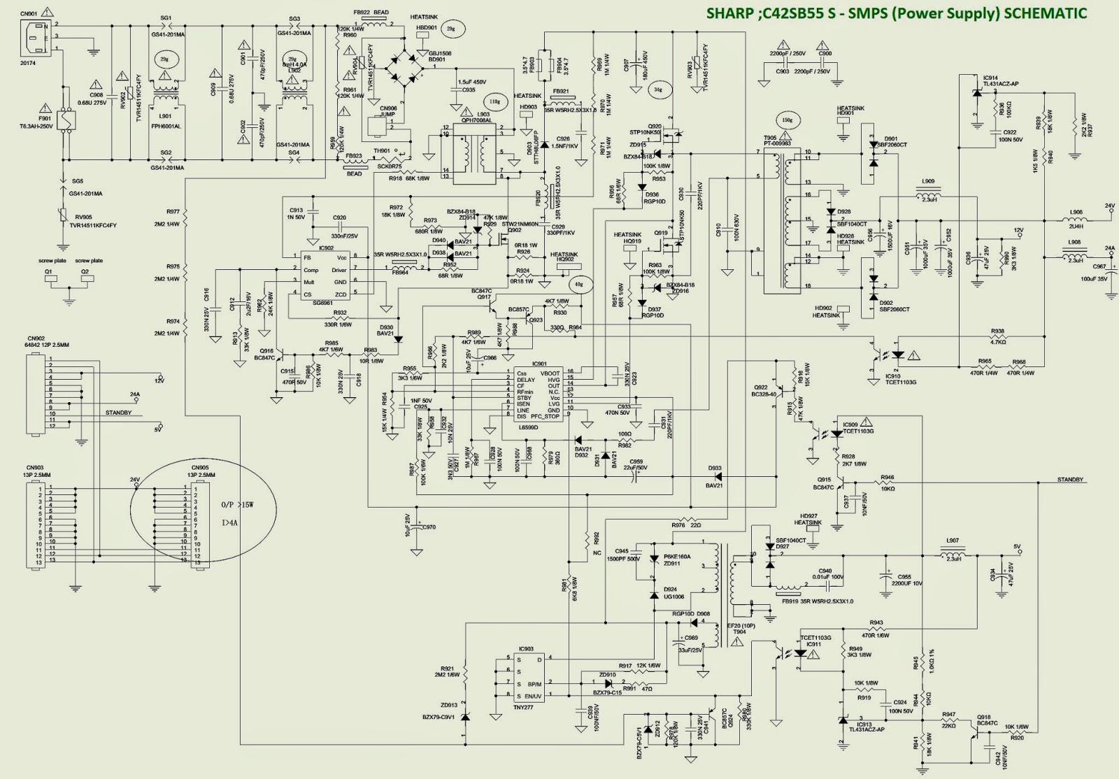 medium resolution of lc 42sb55e s ru ru ru