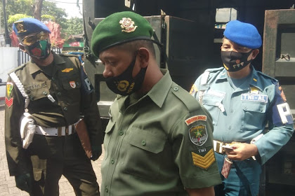 TNI Gadungan Terjaring Razia Oleh Petugas Gabungan Operasi Patuh Jaya 2020