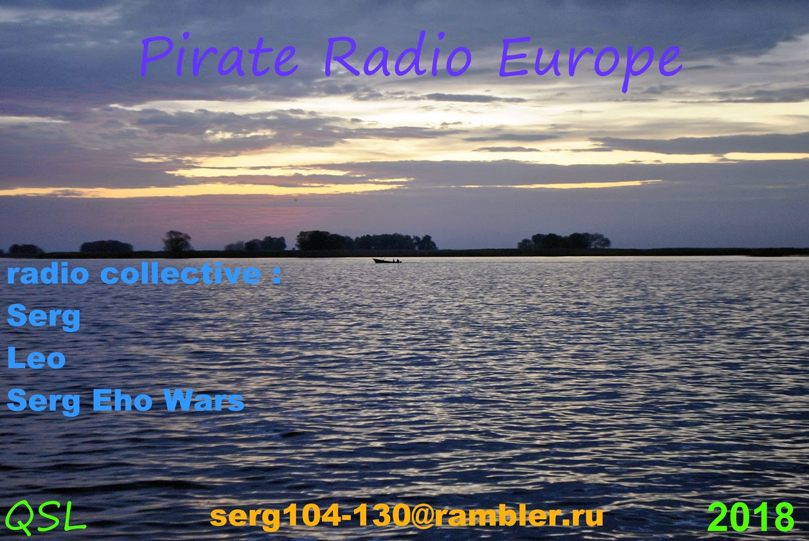 Shortwave DX blog: Pirate Radio Europe eQSLs