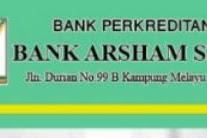 Lowongan PT. BPR Arsham Sejahtera Pekanbaru Desember 2019