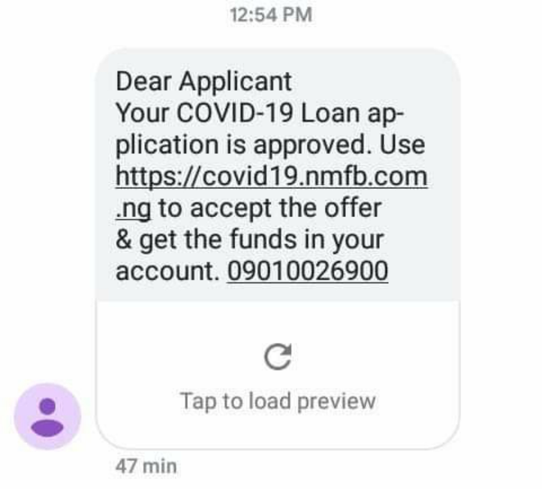 Your COVID-19 Loan application is approved: what should i do?