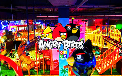 Johor Bahru night tour Angry Bird Park