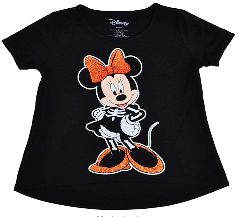 Disney Minnie Skeleton Shirt