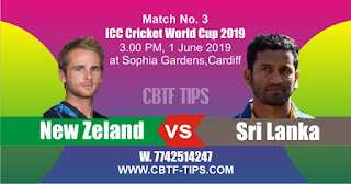 World Cup 2019 Match Prediction Tips by Experts NZL vs SL