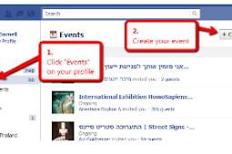 Facebook Create event