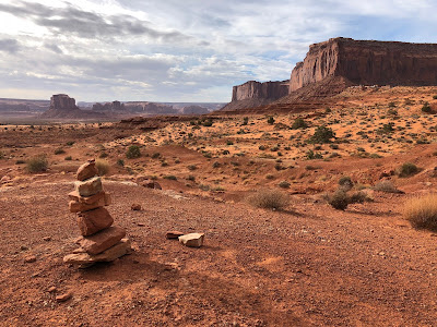 View of Monument Valley early morning.