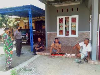 Babinsa Dan Bhabinkamtibmas Sosialisasikan Prokes di Dukuh Gandik Jepara