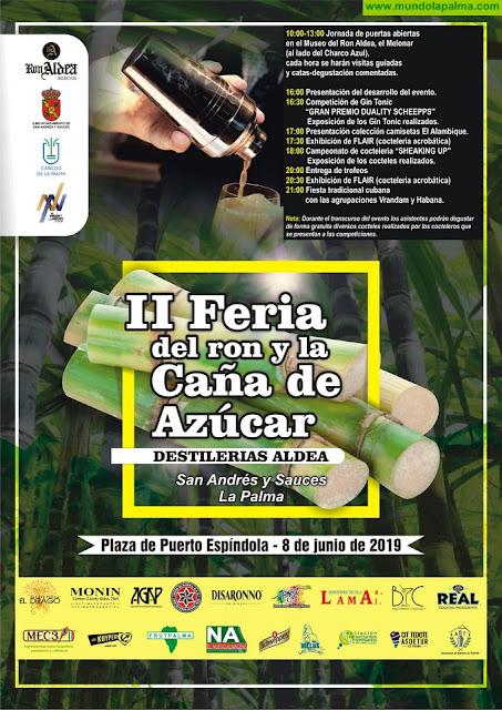 Programa de la II Feria del Ron y la Caña de Azúcar Destilerías Aldea