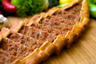 Turkish Ground Beef Pide (Kiymali Pide)