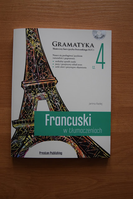 """Recenzje #14 - """"Francuski w tłumaczeniach cz. 4"""" + konkurs - nagłówek - Francuski przy kawie"""