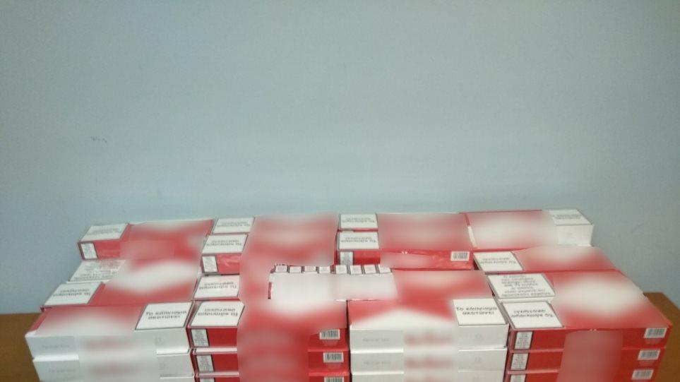 Ροδόπη: Μετέφερε εκατοντάδες λαθραία πακέτα τσιγάρων