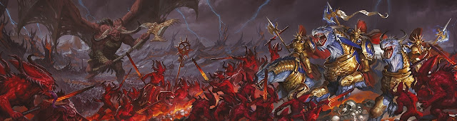 Warhammer age of sigmar epic khorne artwork battle ilustration fantasy 1