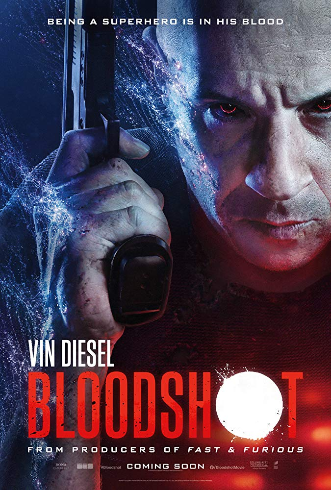 Bloodshot, Vin Diesel, Eiza Gonzalez, Action, Sci-Fi, Movie Review by Rawlins, Superhero movie, Rawlins GLAM
