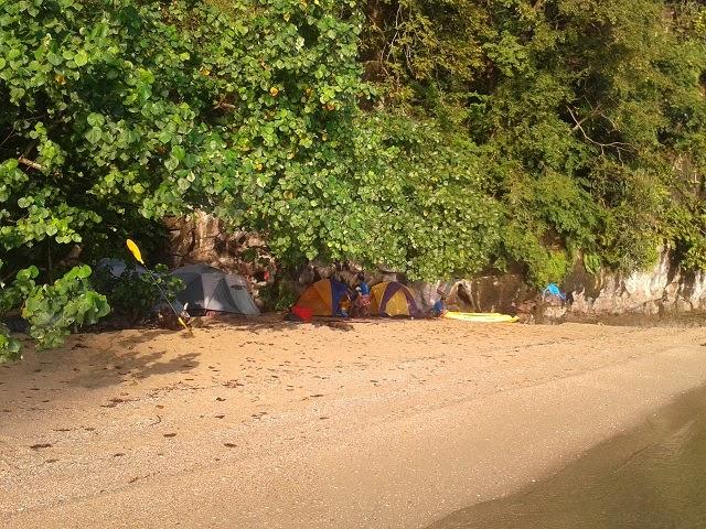 Camping Panak Island in Phang Nga Bay