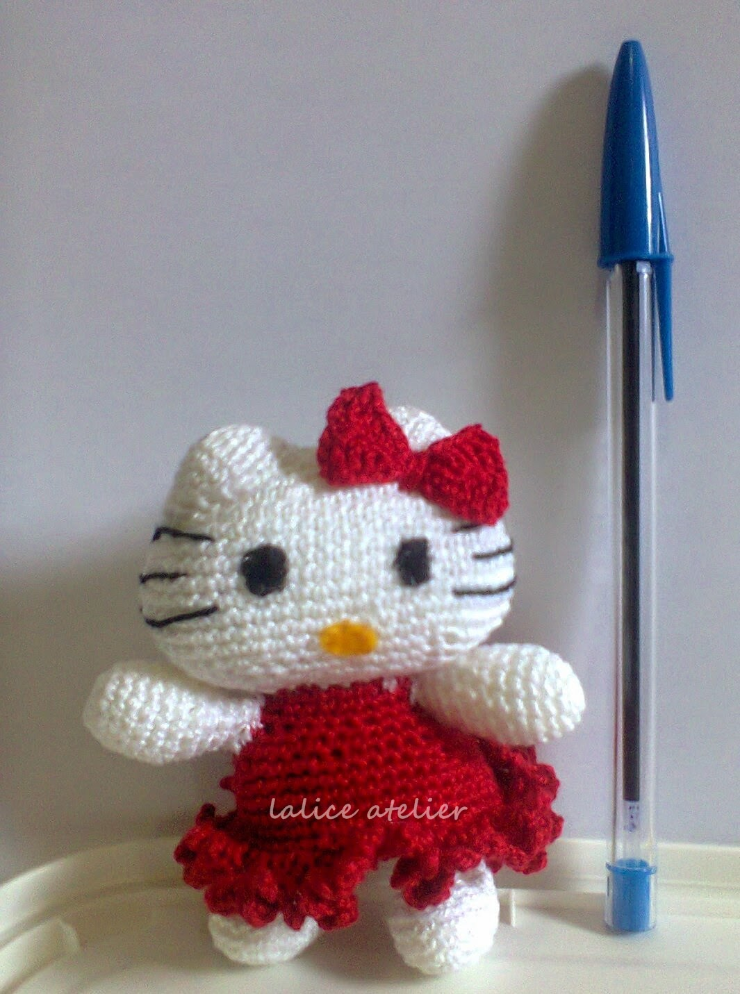 hello kitty, hello kitty crochet, cat crochet, amigurumi