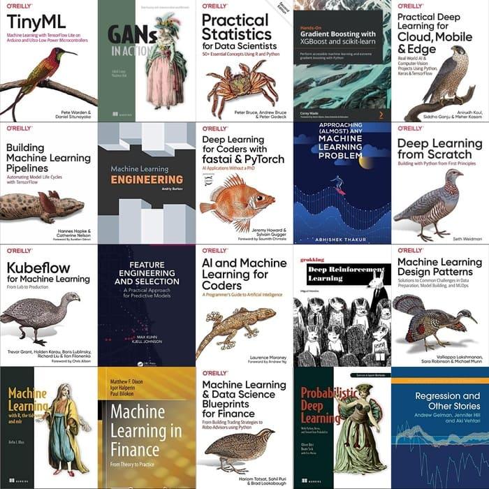 Best Machine Learning Books - LunaticAI