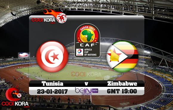 الهدف الثاني لزيمبابوي في مرمى تونس