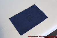 10th Doctor blue suit fabric reweave