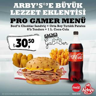 arby's kampanya fırsatlar ve promosyonlar (indirimli menüler )