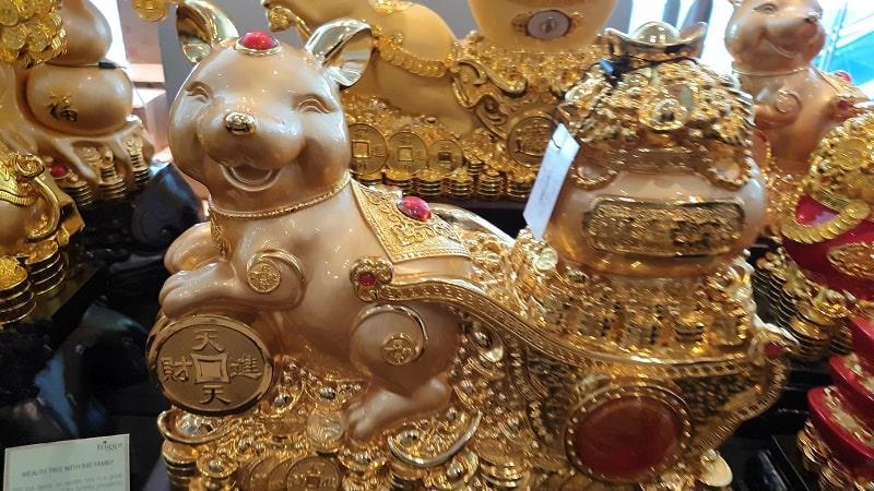 feng shui charm in Metal Rat