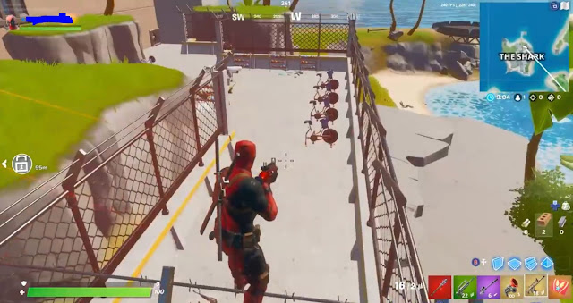 Fortnite New Map Jail Gym