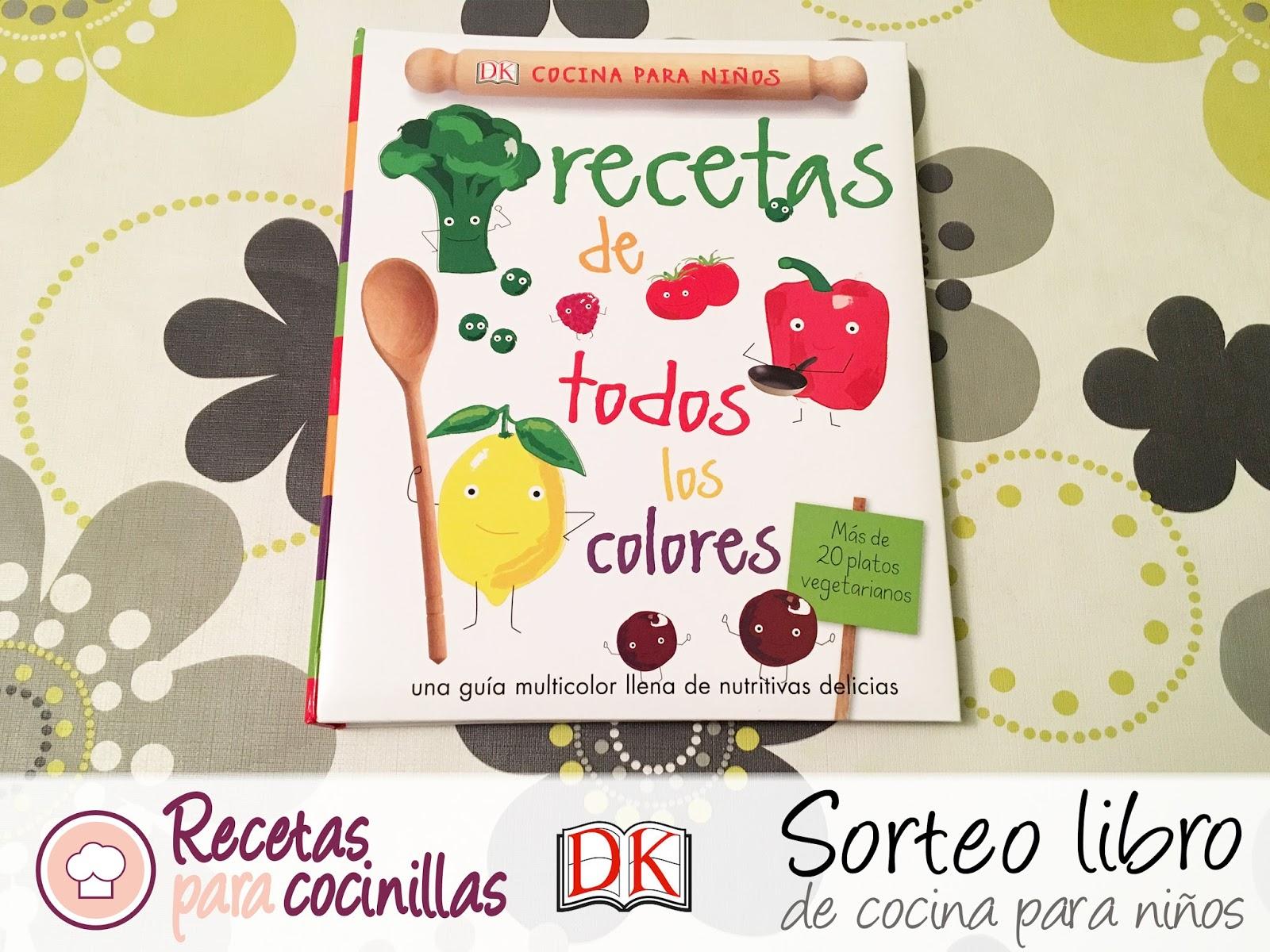 recetas para cocinillas sorteo libro de cocina para ni os