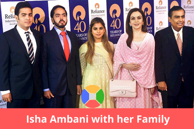 Isha-Ambani-family