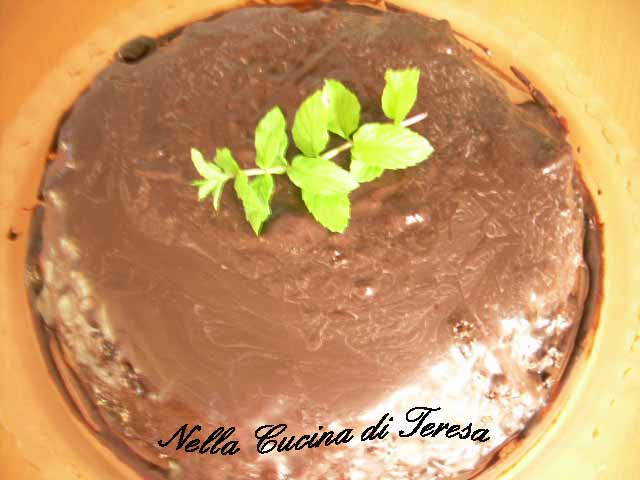 Nella cucina di teresa torta menta e cioccolato - Nella cucina di teresa ...