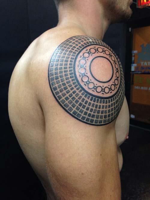 erkek omuz dövmeleri man shoulder tattoos 5