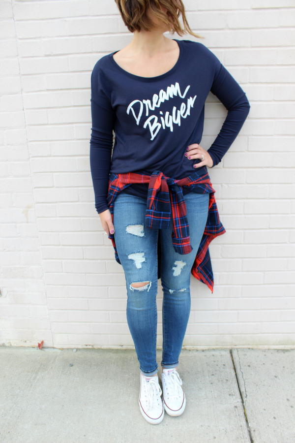 sevenly, gifts for good, gift guide, dream bigger, graphic tee