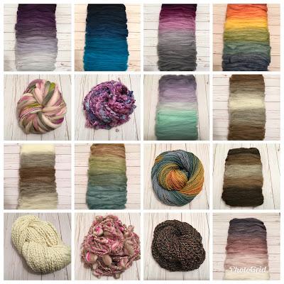Gradient fiber and handspun yarn