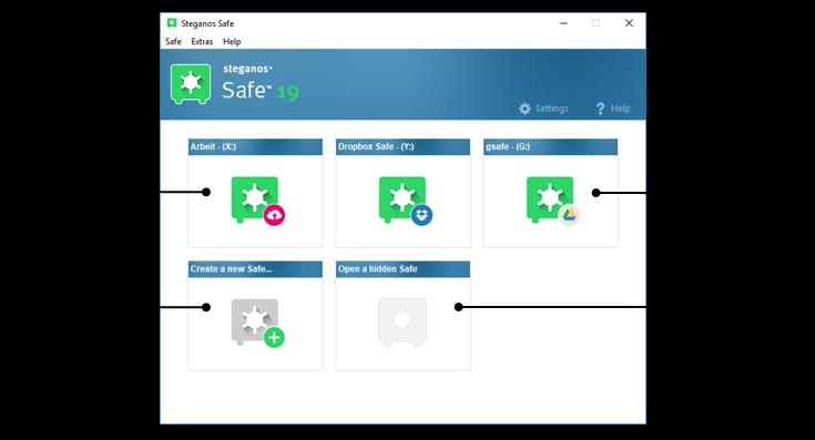 تحميل برنامج Steganos Safe 21.0.6 لحماية المستندات والصور السرية الخاصة بك