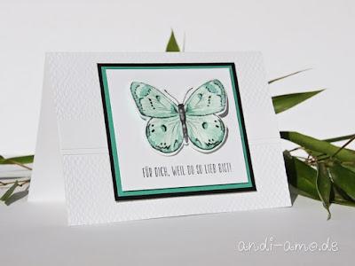 Karten Schmetterlinge Stampin Up