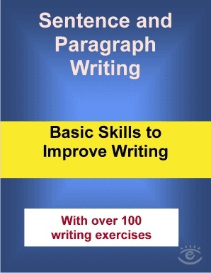 Sentence And Paragraph Writing