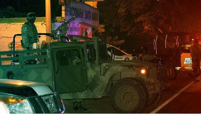 Previo a Captura de El Azul líder del CDSRL hubo un enfrentamiento en, Rincón de Tamayo, Guanajuato con 6 Sicarios muertos