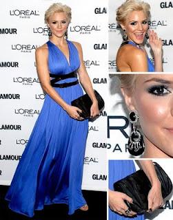 Acessórios para usar com vestido azul