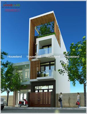 thiết kế nhà phố hiện đại đẹp nhất