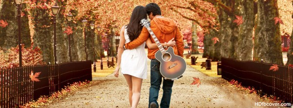 Romantic Love Facebook Cover Photo